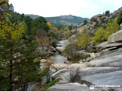 La Pedriza - Collado del Cabrón - Charca Verde_ Senderismo organizado _ viaje senderismo;excursion